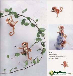 обезьянки из бисера