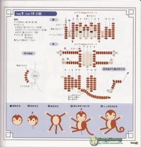 обезьянки из бисера2